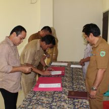 Optimalisasi fungsi Dinas, beberapa pejabat menempati tugas baru