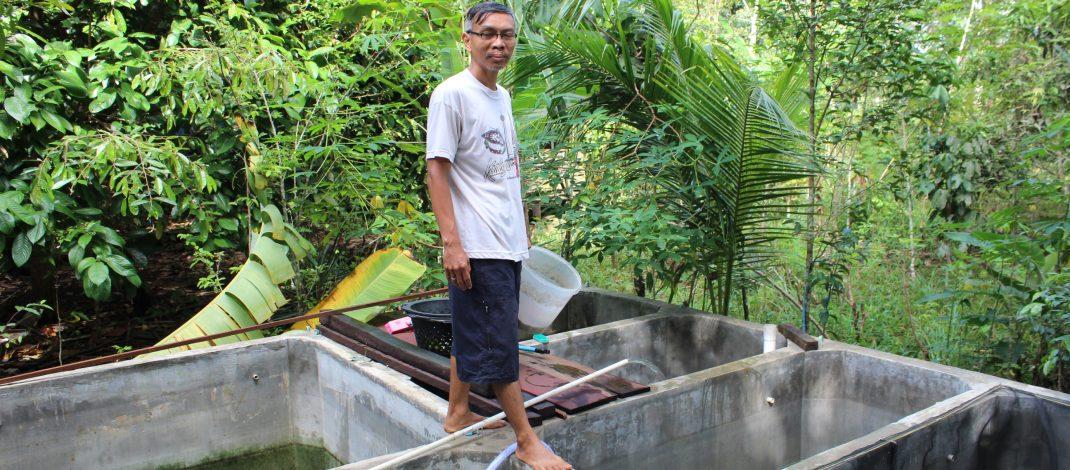 Purnomo Adi, pembenih ikan dari Barong Tongkok