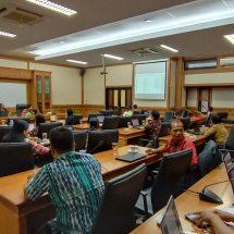 Maksimalkan pelaksanaan Perpres No. 16 Tahun 2018, Dinas Perikanan Ikuti Lokakarya penyusunan Rancangan Kontrak