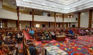 Dukung Kegiatan Bimbingan Rohani Kristen, Dinas Perikanan menjadi petugas Ibadah