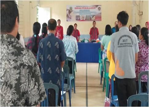 Kampanye Gemar Makan Ikan, Dinas Perikanan Gelar Pelatihan Penganekaragaman Bahan Pangan Berbahan Baku Ikan