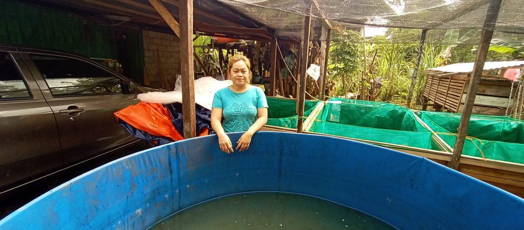 Meta, Warga Kampung Ngenyan Asa, Kembangkan Usaha Benih Ikan