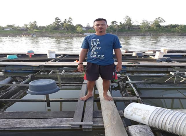 Kiat Sukses Usaha Perikanan Kelompok Pembudidaya Jaring Apung Mahakam Jaya di Tengah Pandemi