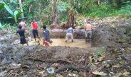 Cetak Kolam Dengan Gotong Royong, Pokdakan Mina Harapan Jaya Hidupkan Budaya Leluhur